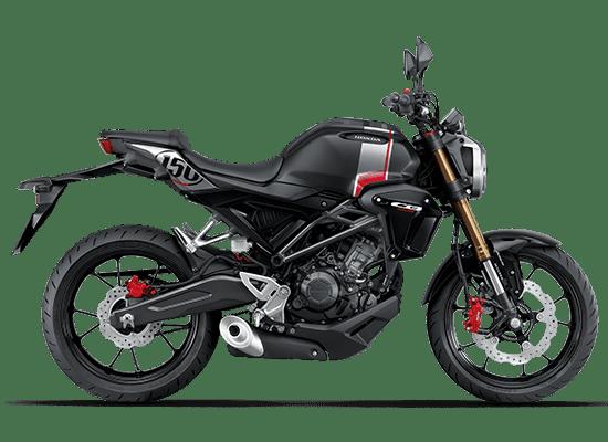 Honda CB150R màu Đen bạc