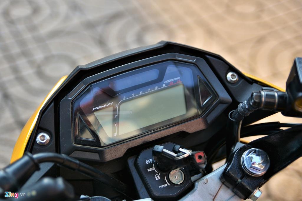 Honda Sonic voi dan ao Ferrari o TP.HCM hinh anh 4 4_Sonic_zing.jpg