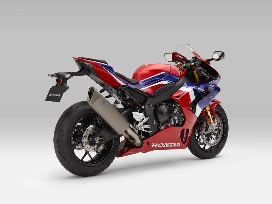 2021 Thân xe hung hăng và trơn trượt của Honda CBR1000RR-R Fireblade SP.