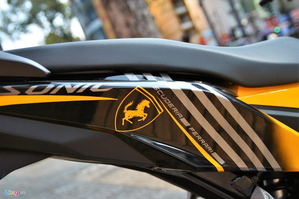 Honda Sonic voi dan ao Ferrari o TP.HCM hinh anh 8 6_Sonic_zing.jpg