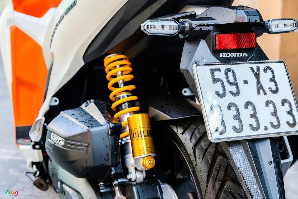 Honda Vario bien so 33333 duoc rao gia gan 500 trieu tai TP.HCM hinh anh 5 DSCF1110_zing.jpg