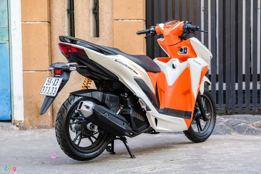Honda Vario bien so 33333 duoc rao gia gan 500 trieu tai TP.HCM hinh anh 3 DSCF1136_zing.jpg