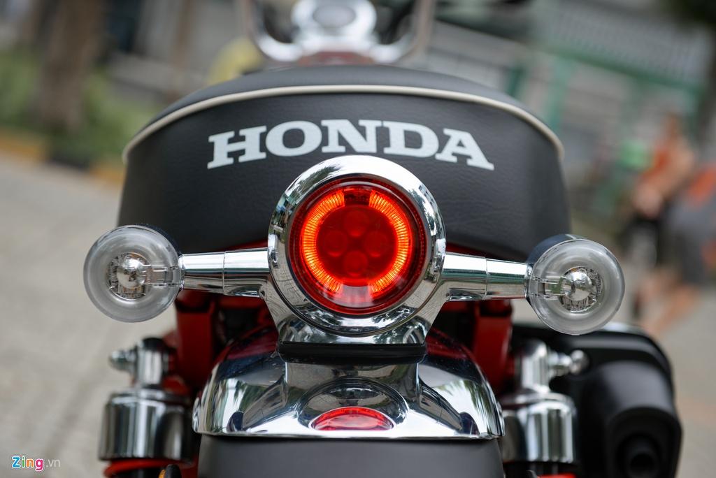 Honda Monkey 2018 ve Viet Nam, gia gan 120 trieu dong hinh anh 8