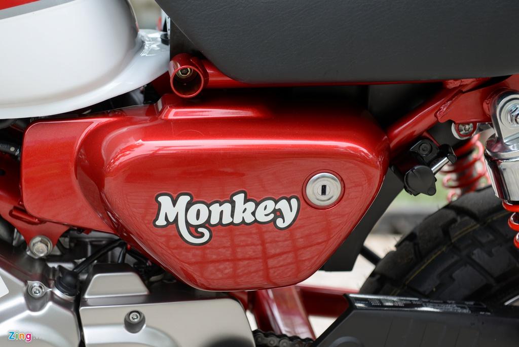 Honda Monkey 2018 ve Viet Nam, gia gan 120 trieu dong hinh anh 9
