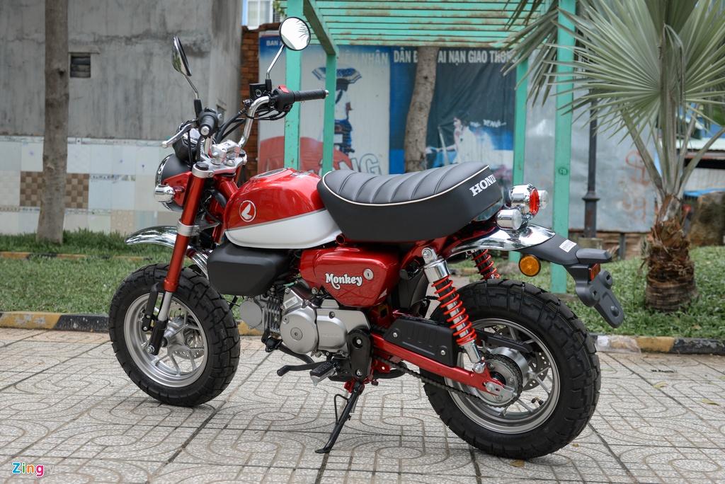 Honda Monkey 2018 ve Viet Nam, gia gan 120 trieu dong hinh anh 7