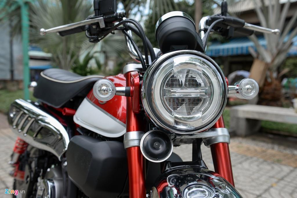 Honda Monkey 2018 ve Viet Nam, gia gan 120 trieu dong hinh anh 3