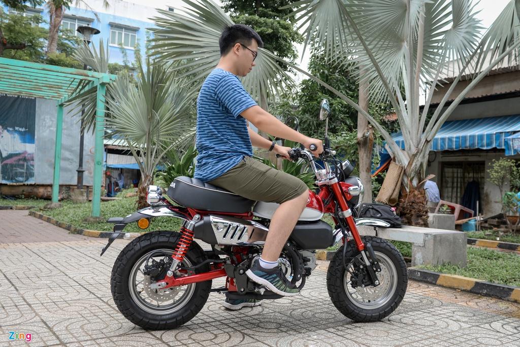 Honda Monkey 2018 ve Viet Nam, gia gan 120 trieu dong hinh anh 11