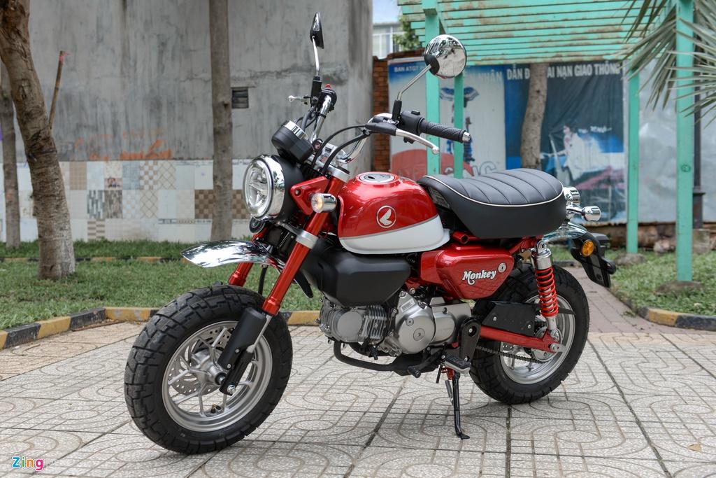 Honda Monkey 2018 ve Viet Nam, gia gan 120 trieu dong hinh anh 12
