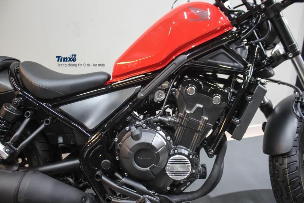 Trang bị Động cơ Honda Rebel 500