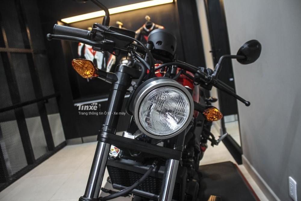 Đèn pha Honda Rebel 500