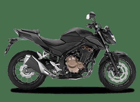 Mẫu Honda CB500F màu đen