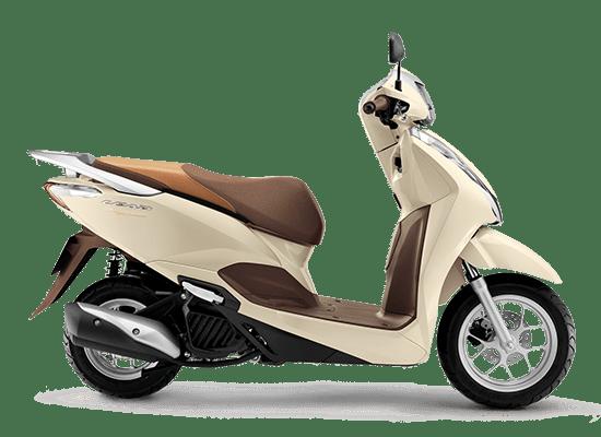 Honda Lead Trắng Ngà Nâu
