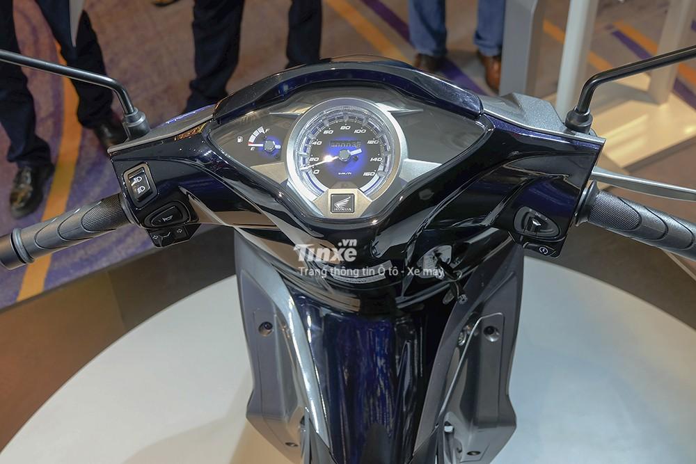 Thiết kế đồng hồ xe Honda Future