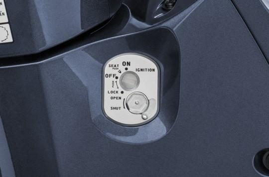 Trang bị ổ khóa xe Honda Future