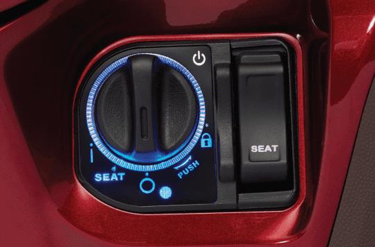 Hệ thống khóa thông minh trên Honda SH mode