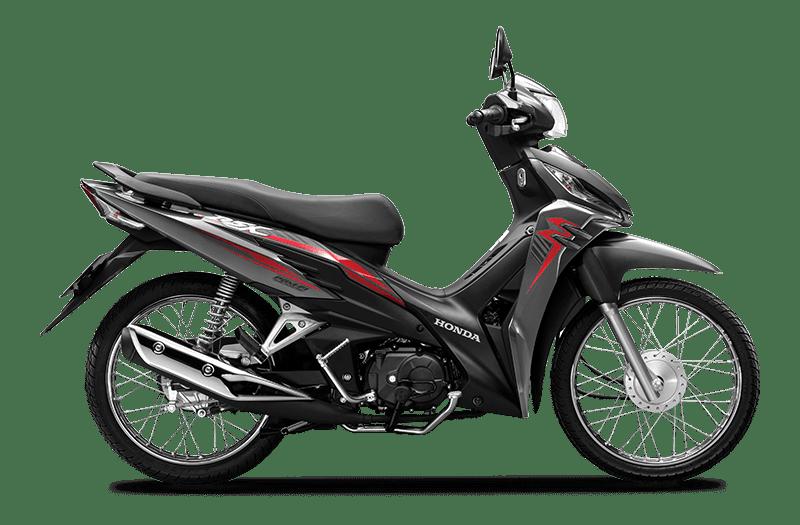 Honda Wave RSX Xám đen