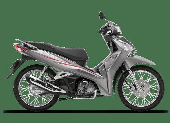 Mẫu Honda Future vành nan hoa màu bạc đen