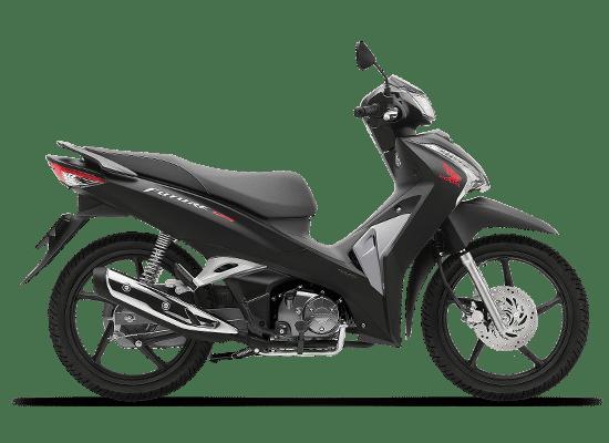 Mẫu Honda Future vành đúc màu đen bạc