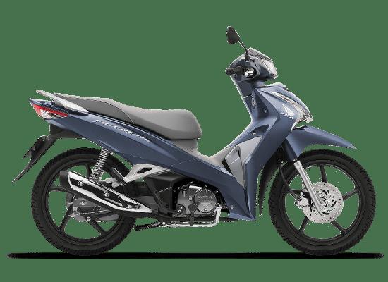 Honda Future vành đúc màu xanh bạc