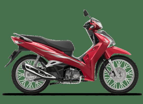Mẫu Honda Future vành nan hoa màu đỏ đen