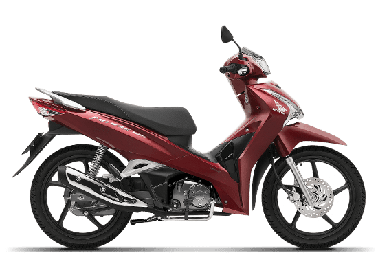 Mẫu Honda Future vành đúc màu đỏ đen