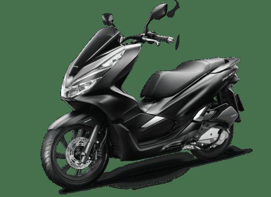 Mẫu Honda PCX màu đen mờ