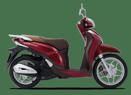 Giá xe Honda SH Mode màu đỏ đậm: 51.690.000 VNĐ