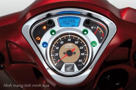 Thiết kế mặt đồng hồ Honda SH mode