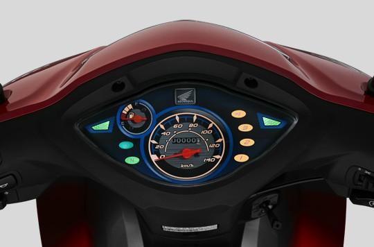 Bố trí Mặt đồng hồ trên Honda Wave Alpha 110