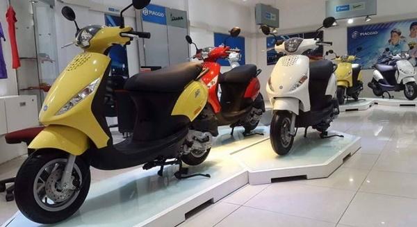 Piaggio Zip là chiếc xe máy mới thời thượng