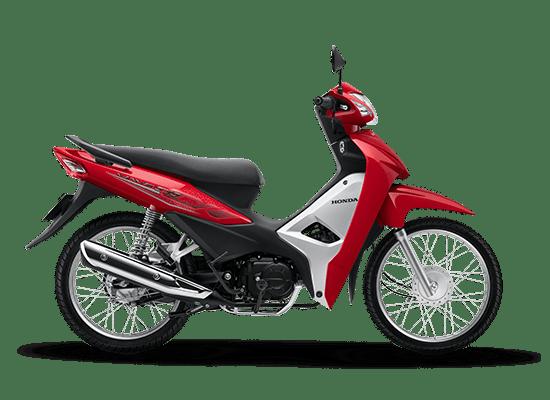 Honda Wave Alpha màu đỏ