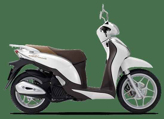 Honda SH Mode màu trắng nâu