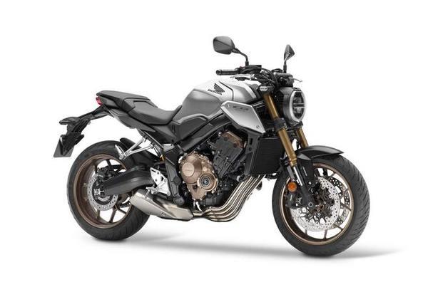 Honda CB650R màu bạc đen
