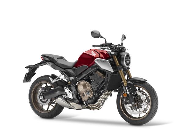 Honda CB650R màu đỏ đen bạc